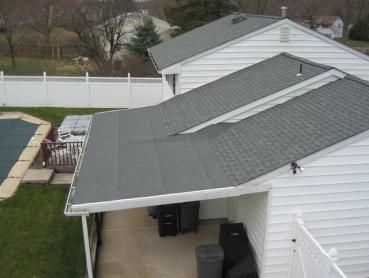 Low Slope Roof With Gutter   Google Search
