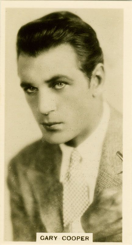 Gary Cooper How do I love thee?  Let me count the ways...