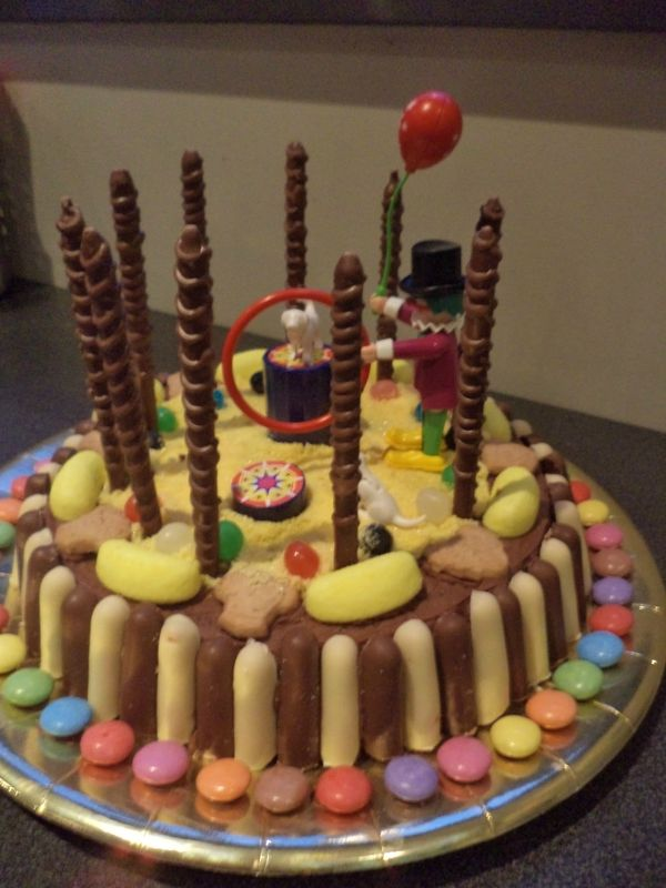 gateau rigolo le cirque | idées gâteau | pinterest | nutella