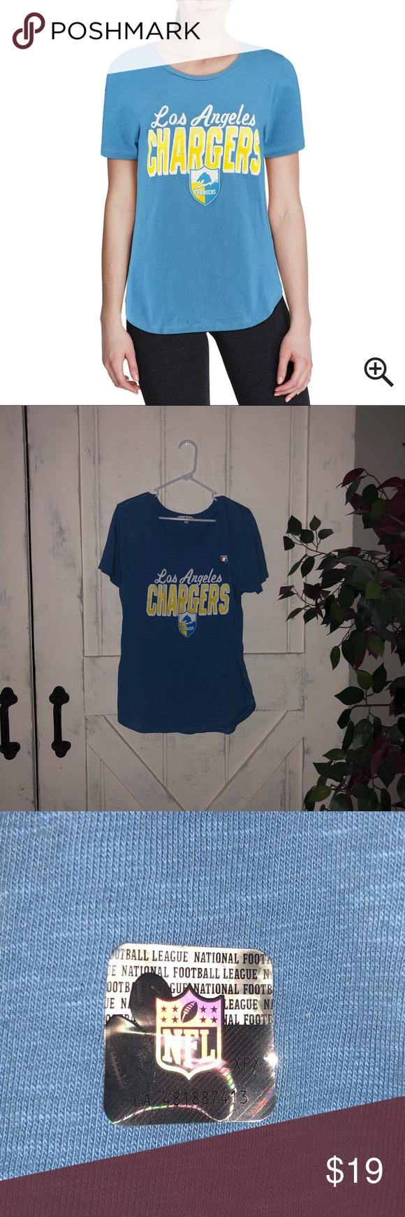 LA Chargers Junk Food TShirt🌟 Junk food t shirts, T