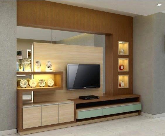 Rak Tv Minimalis Dengan Gambar Rumah Minimalis Rumah Ruang