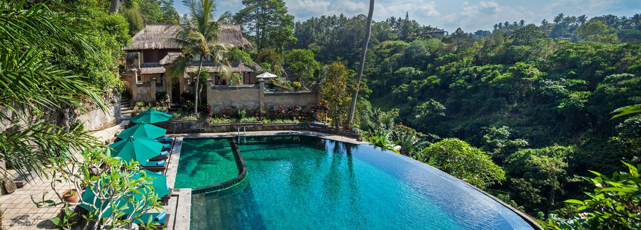 Bali best pools will be found in ubud where infinity pools are overlooking stunning river valleys and rice fields a must do in bali