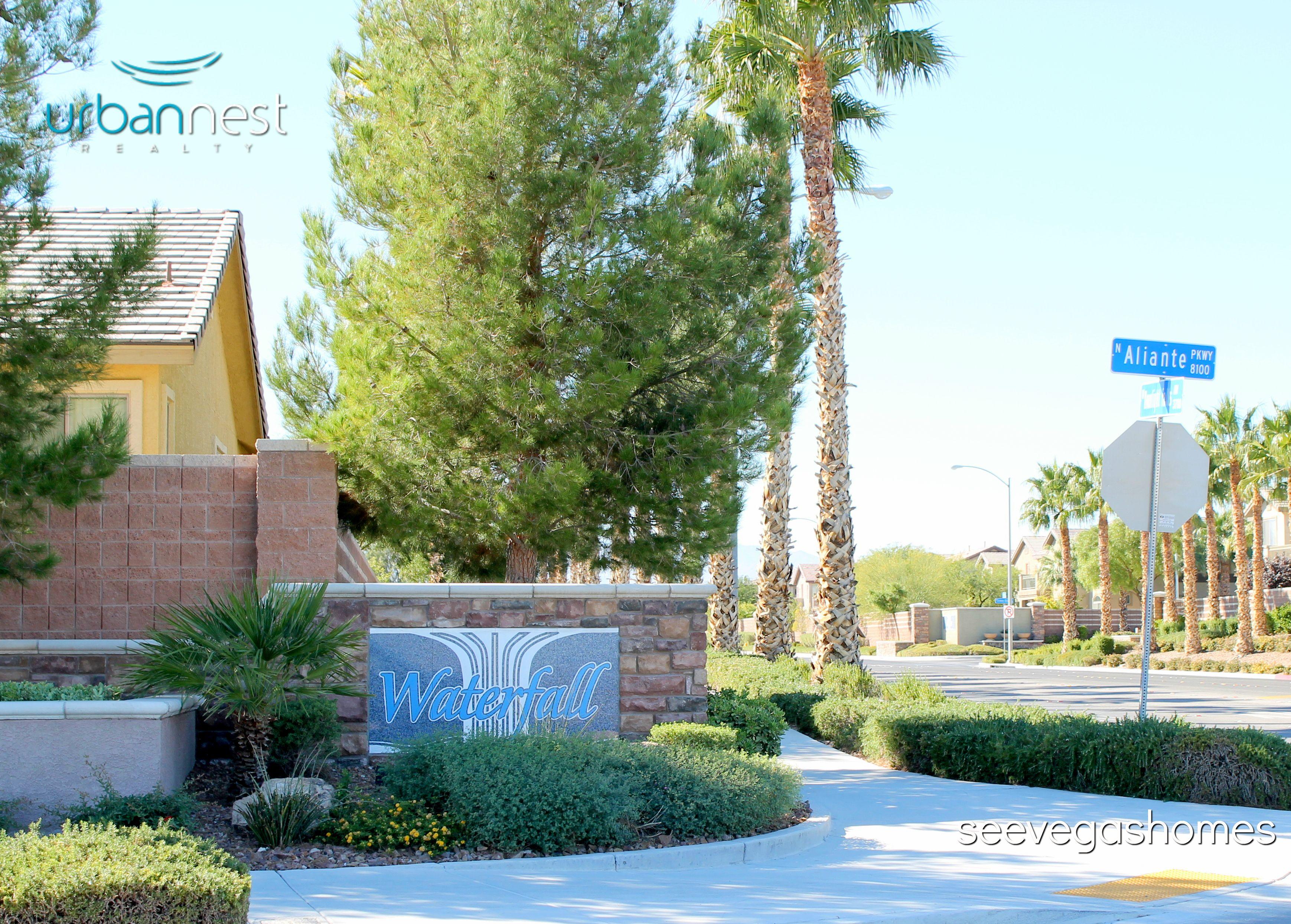Waterfall Community North Las Vegas 89085 SeeVegasHomes