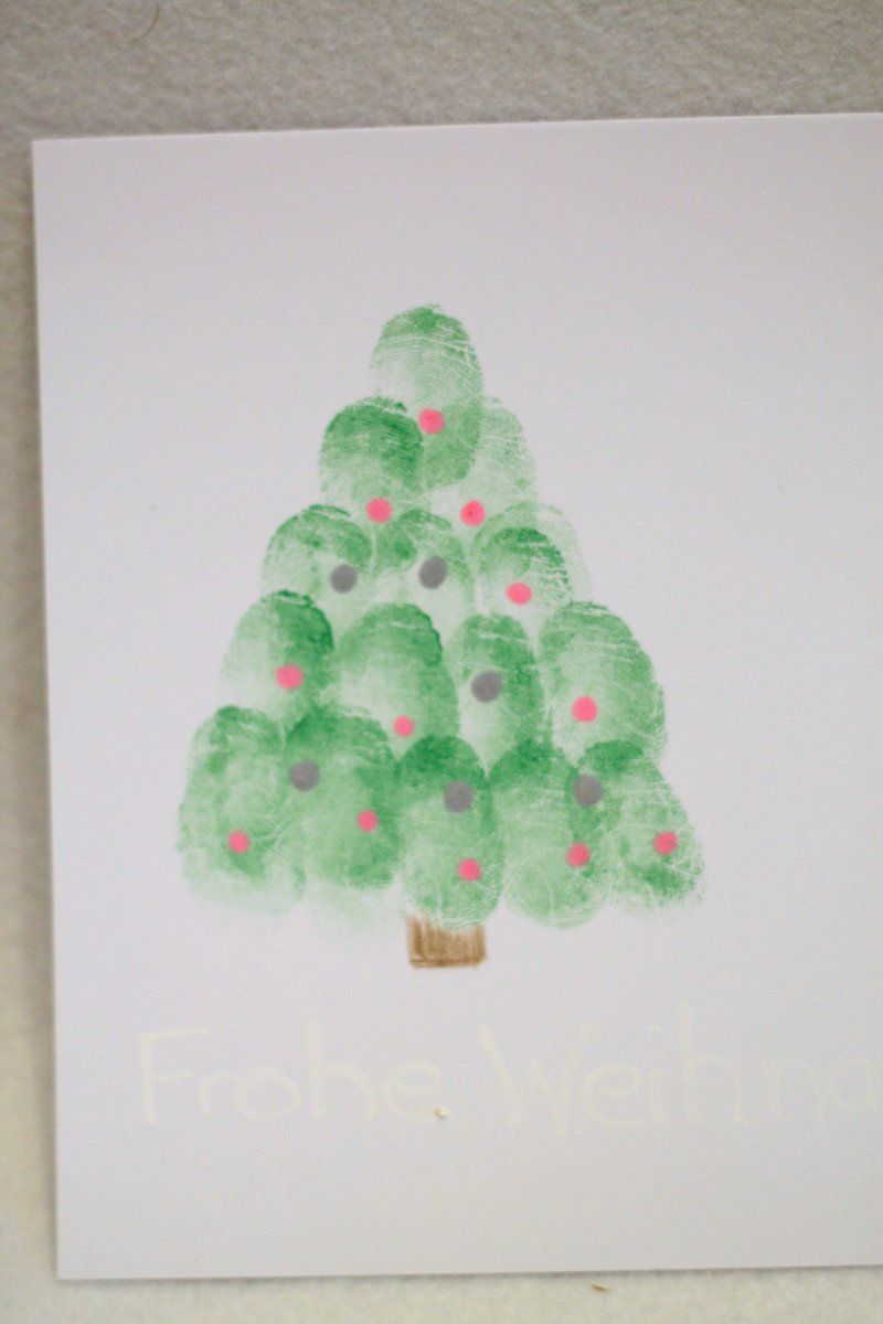 fingerabdruck weihnachtsbaum hand footprints. Black Bedroom Furniture Sets. Home Design Ideas