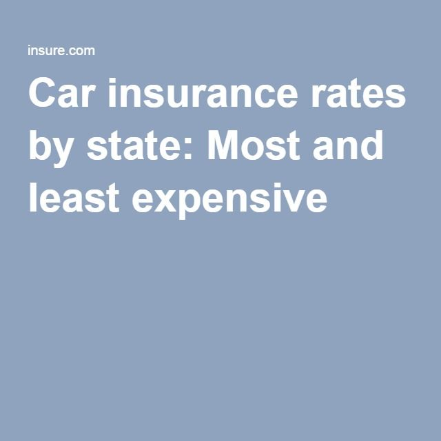 Aaa Quote Glamorous Car Insurance Ratesstate Most And Least Expensive  Car Sell