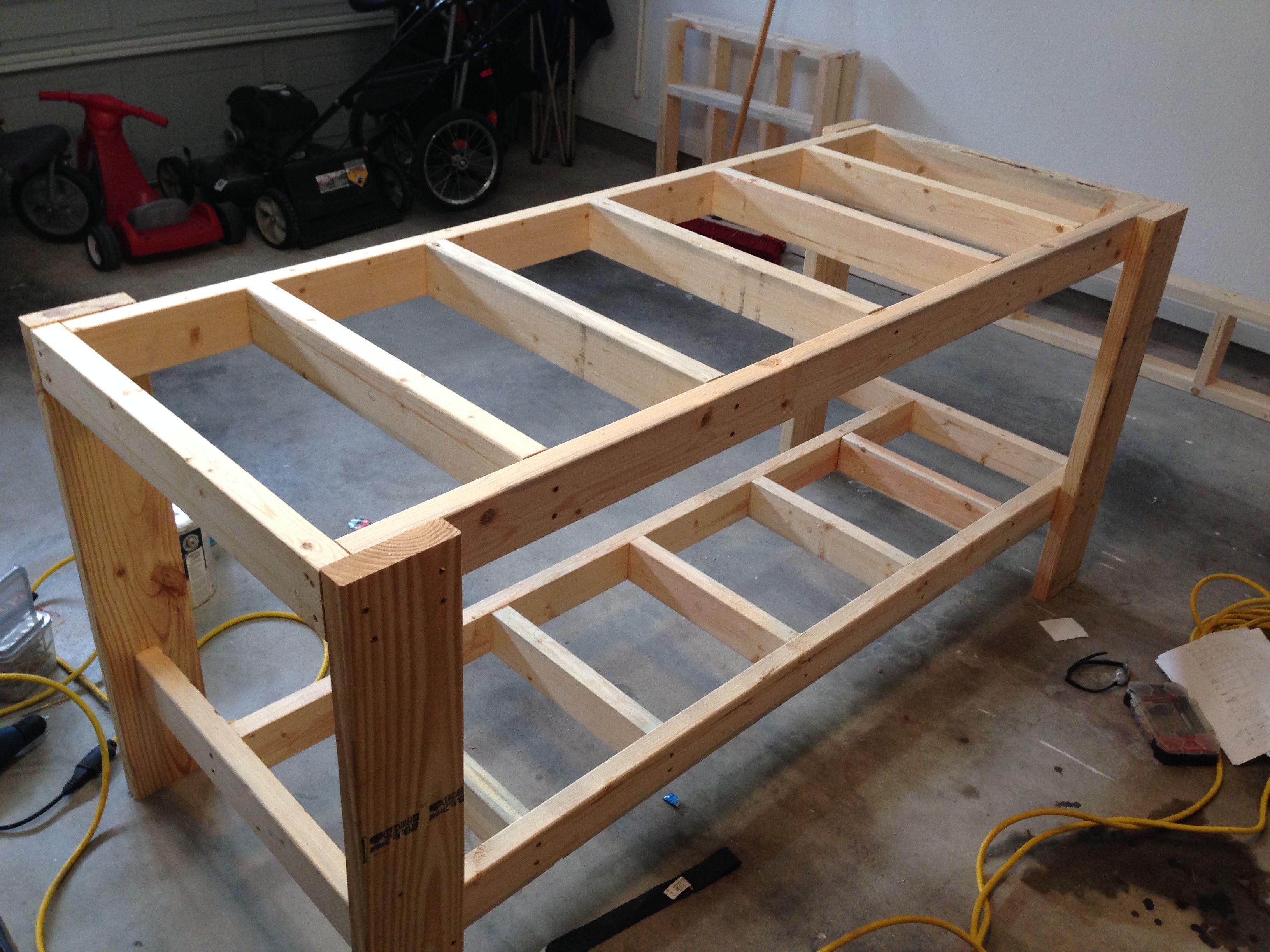 Tavolo Da Lavoro Per Garage : Banco da lavoro mt con piano in legno sogi