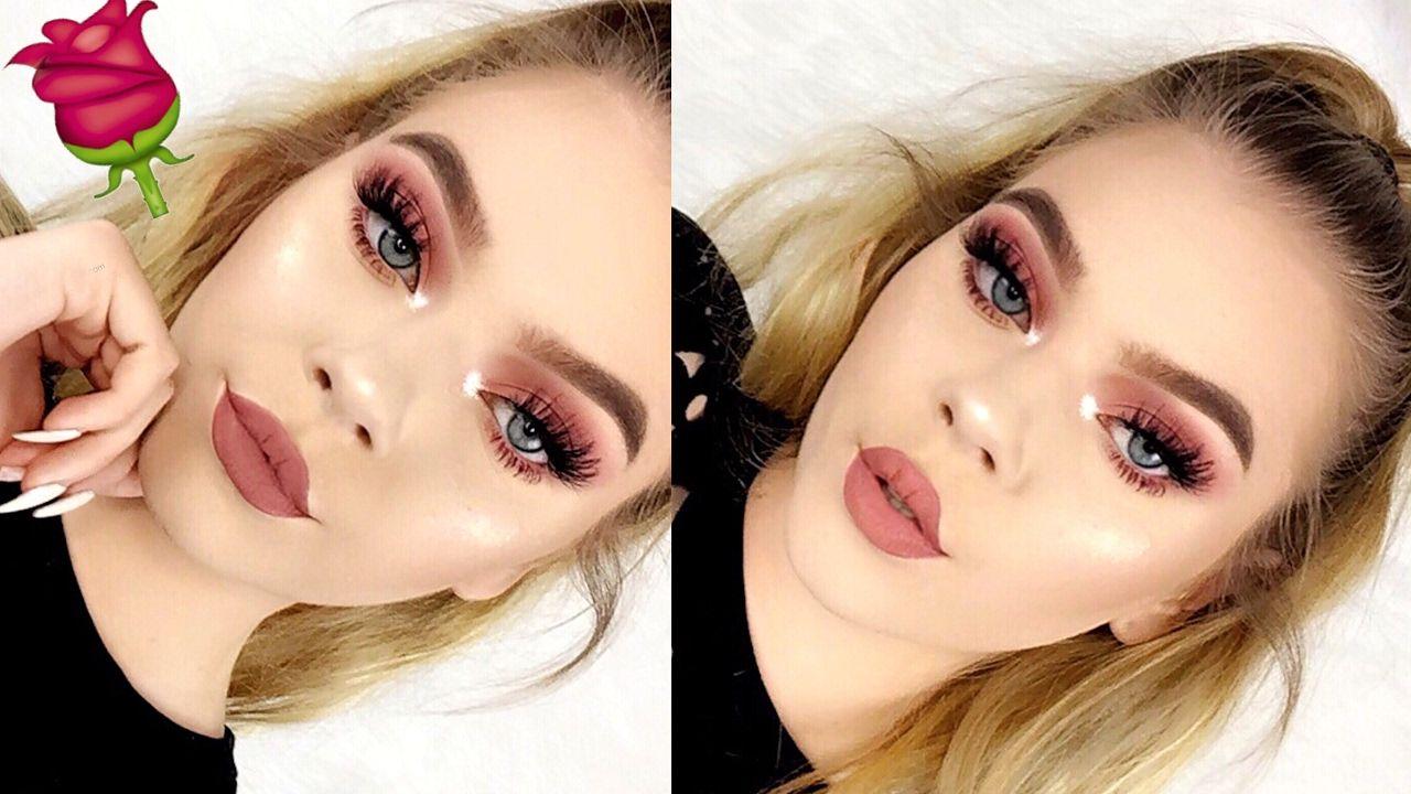 Easy and Soft Valentine's Day Makeup Tutorial | Tina Halada