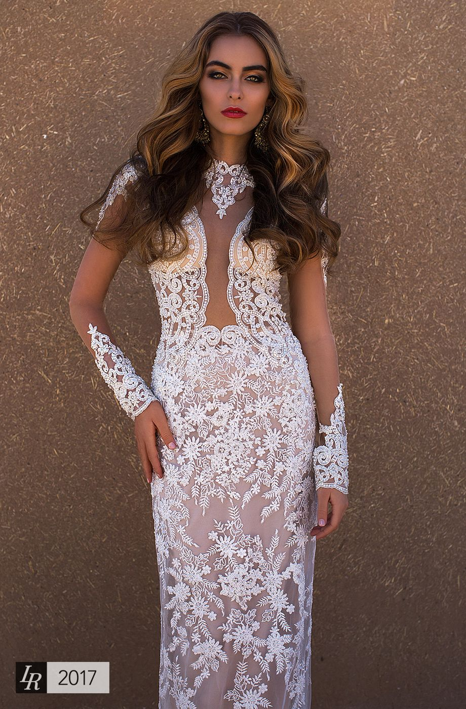 Jady Desert Mistress 2017 Luxury Extravagant Wedding Dress For The Owner Of Perfect Shapes