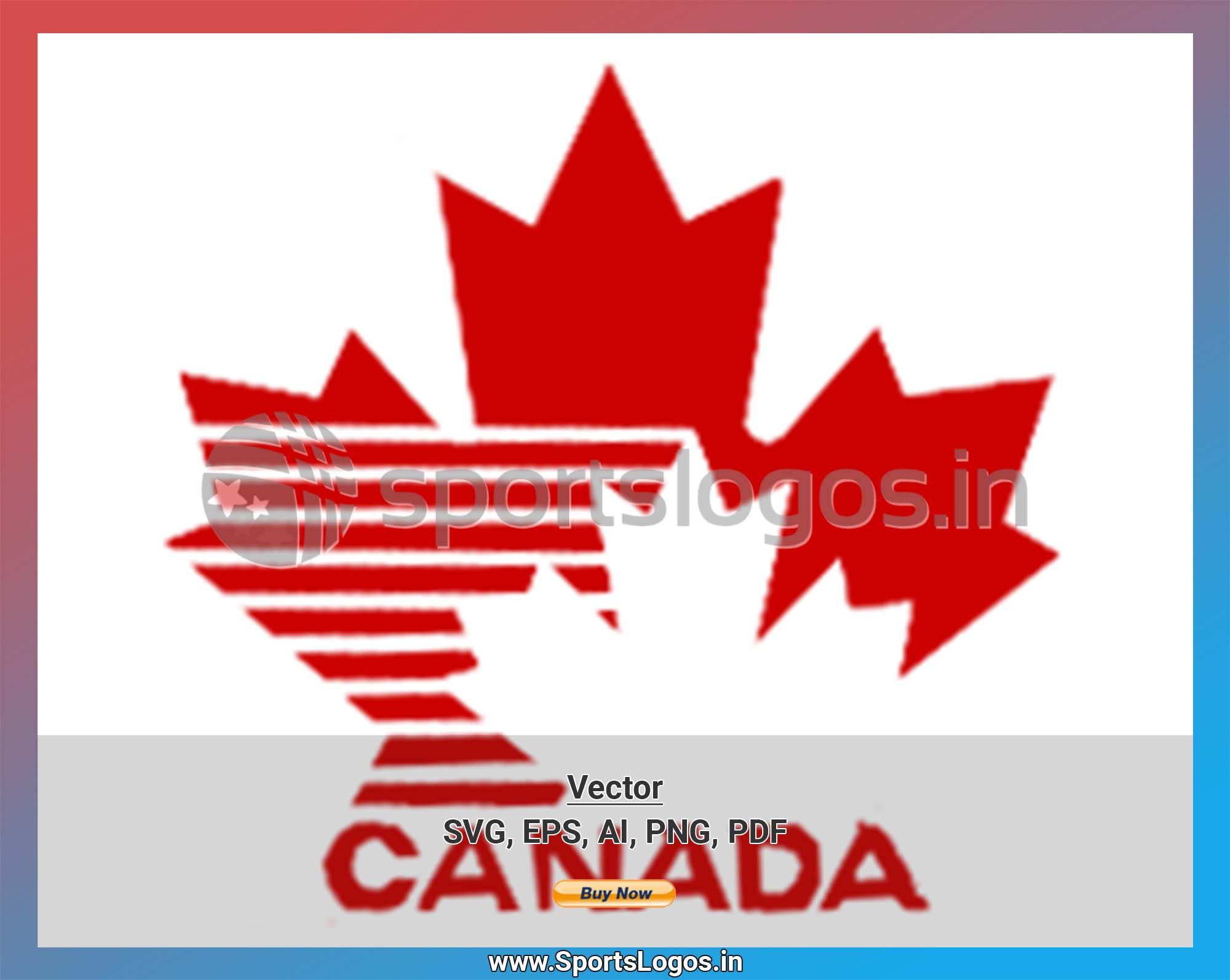 Canada Hockey Sports Vector Svg Logo In 5 Formats Spln000666 Sports Logos Embroidery Vector For Nfl Nba Nhl Mlb Milb And More Embroidery Logo Vector Svg Sport Hockey