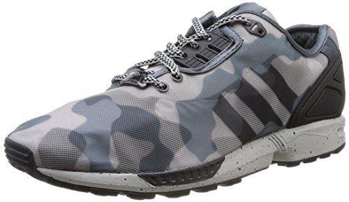 Adidas Zx Flux Decon, Scarpe sportive, Uomo, Multicolore (Mgsogr/Boonix/