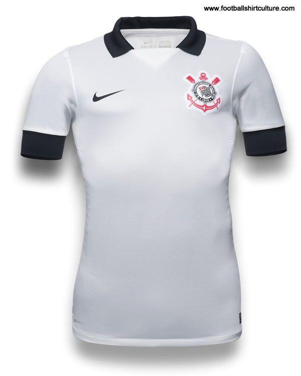 Corinthians 2013 Nike Home   Away Football Shirts  f10949f6d