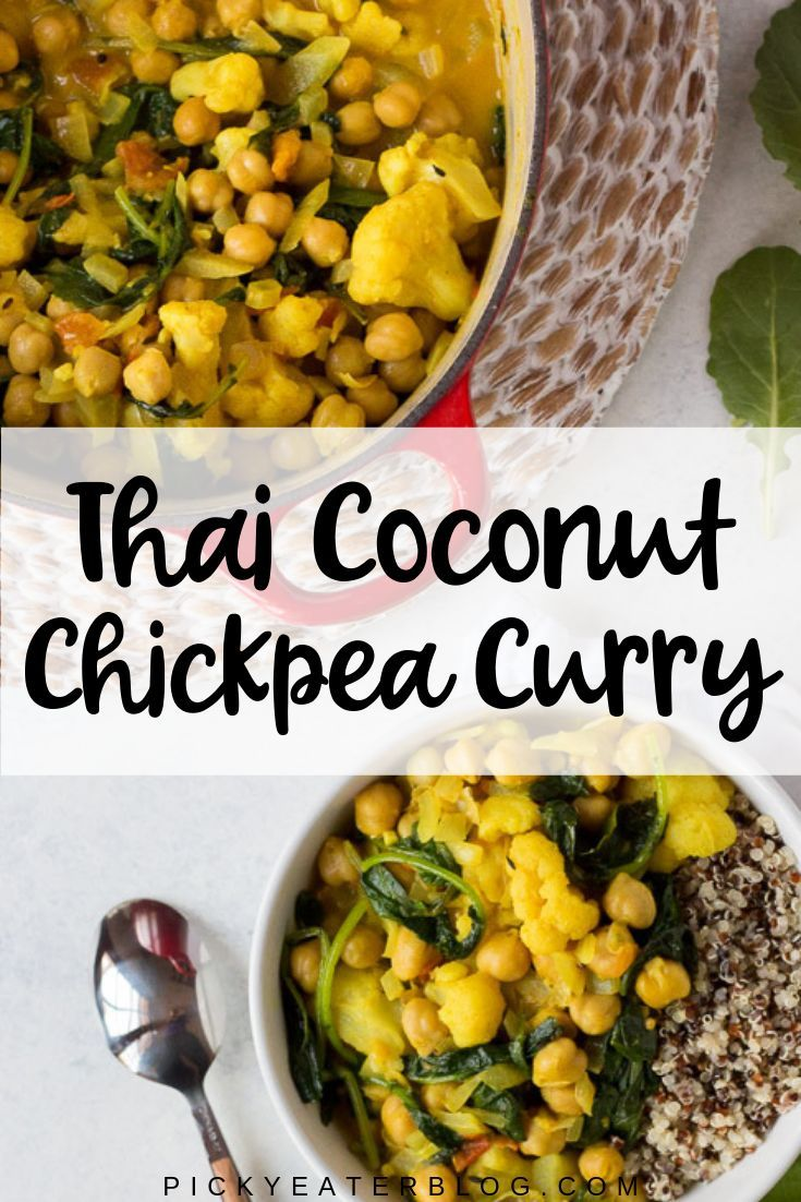 Thai Coconut Chickpea Curry