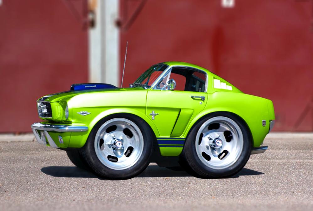 Smart Car Body Kits Microcar Chevy Van Weird Cars Cool