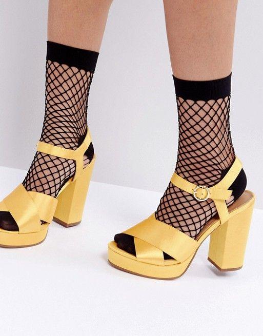 34e0b4ecd Oversized Fishnet Ankle Socks With Re-enforced Heel | Wearable ...