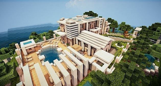 Minecraft-Virage-Modern-Island-House-Map-2 | Minecraft