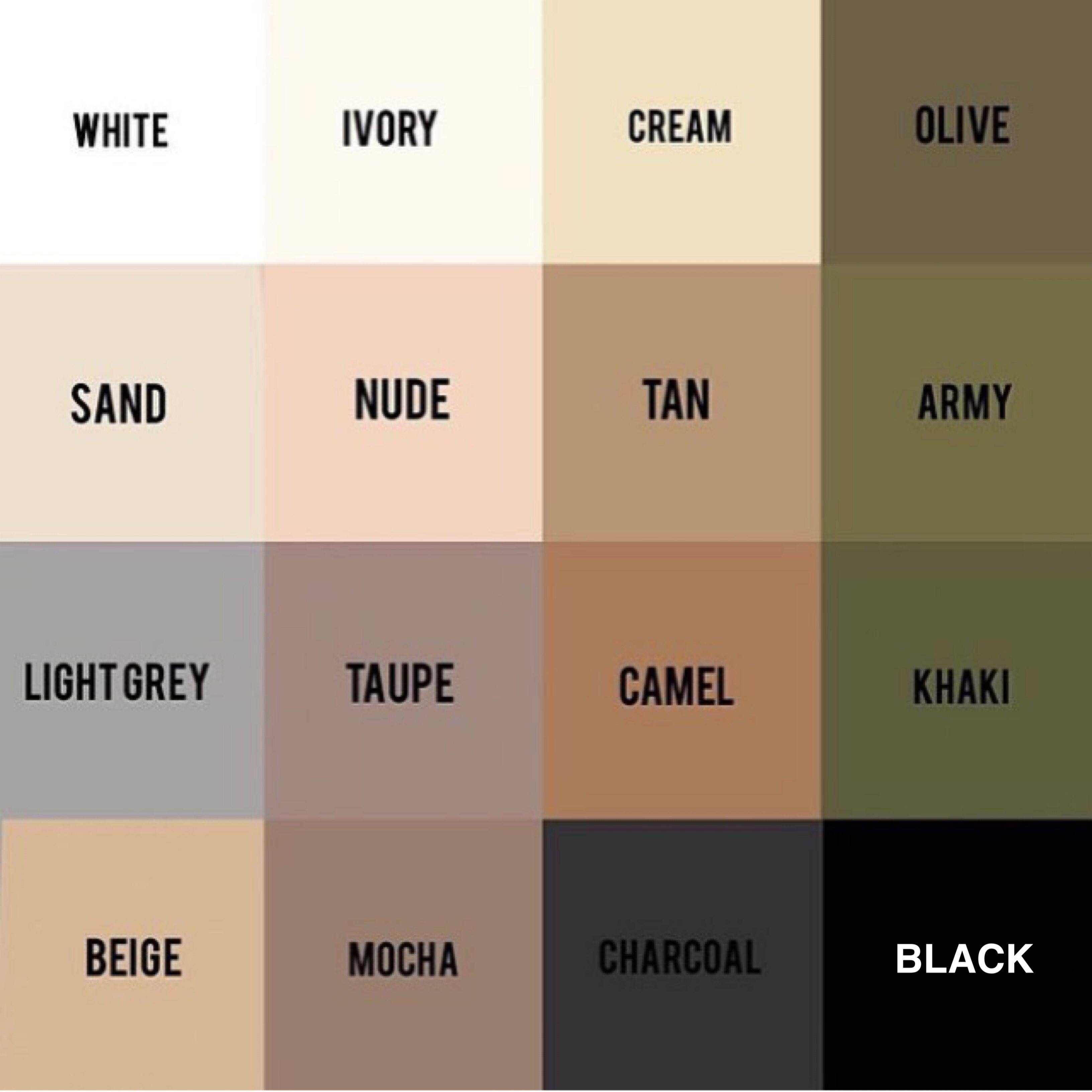 Neautral Colors: Neutral Colors For Clothes
