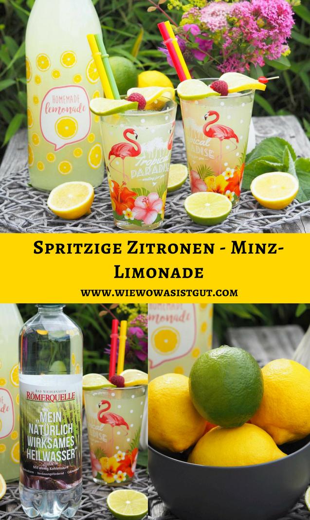 zitronen minz limonade
