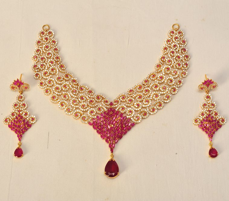 Product Name : GOLD PARTY SET Category Name : Weeding Jewellery ...