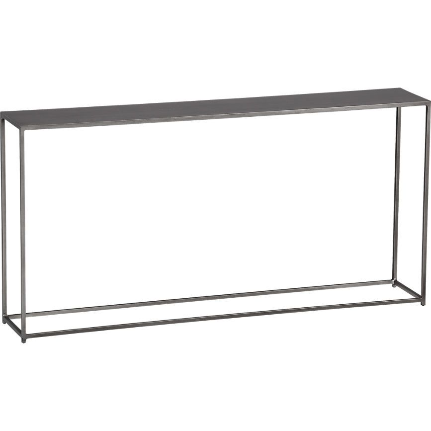 Foundry Console Table In Accent Tables CB Our House - Cb2 sofa table