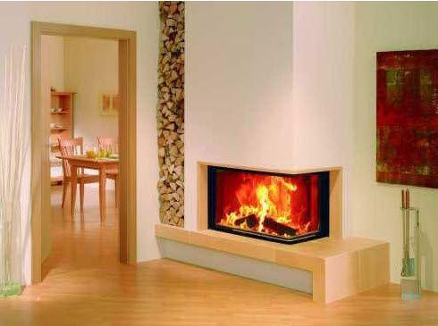 Caminetto ad angolo moderno cerca con google fireplaces in the