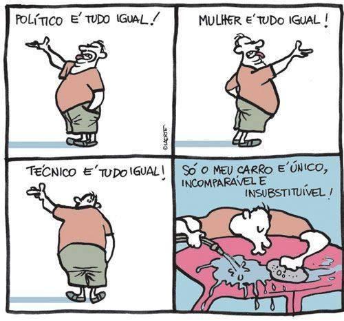 Carrodependência. #tirinha #quadrinhos