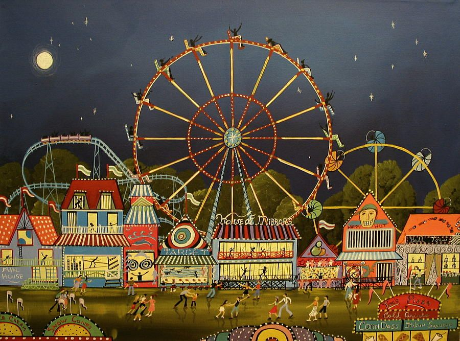 The County Fair Painting by Debbie Criswell | CHEERS in 2019