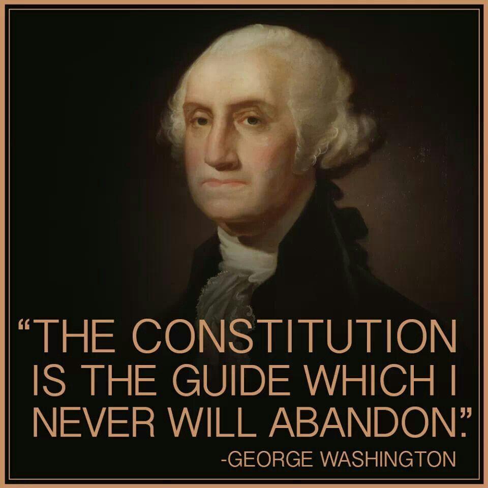 George Washington/Constitution