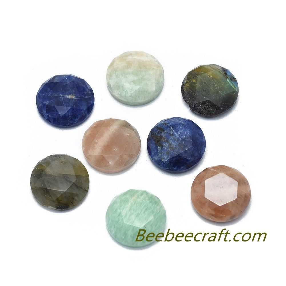 Nbeads 10 Pcs 12mm Faceted Natural Gemstone Cabochons Mixed Color Half Round Natural Stone Cabochons Loose Gemstone Healing Stones For Jewelry Making Beebeecra In 2020 Stones For Jewelry Making Gemstone Healing Gemstone Cabochons