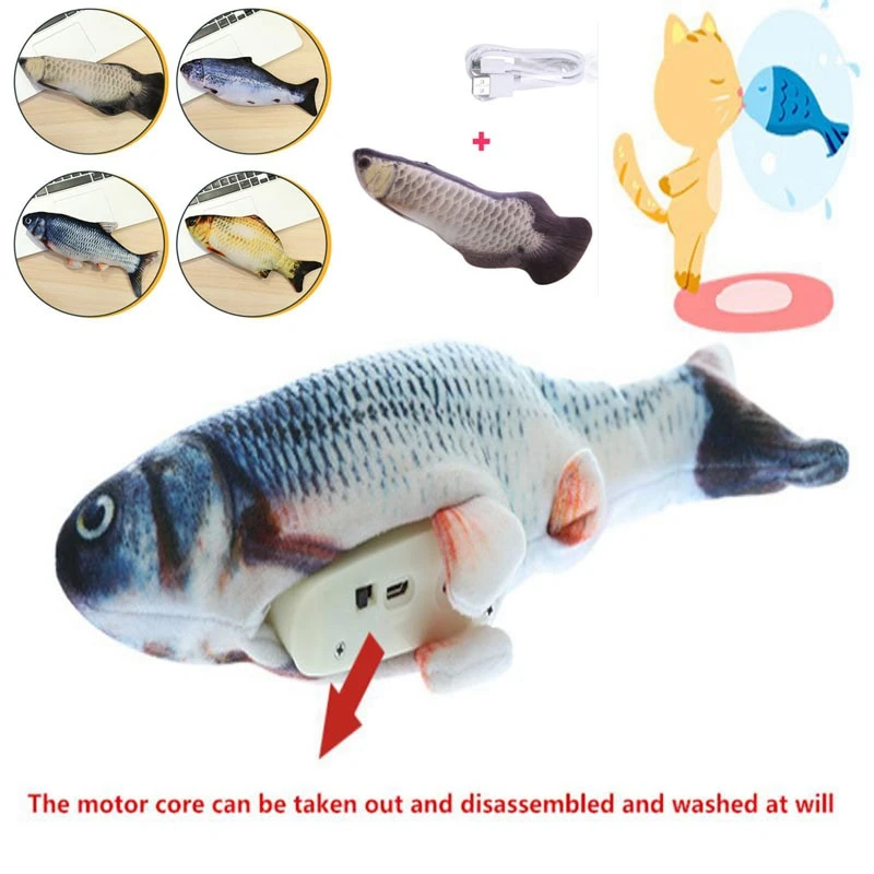Interactive Dancing Fish Toy in 2020 Cat toys, Catnip