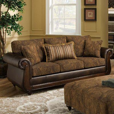 Brady Furniture Industries Edison Park Sofa Reviews Wayfair