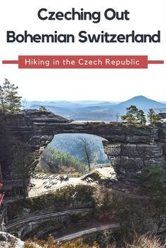 One of our favorite day trips from Prague, hiking in Bohemian Switzerland! Read all about the national park in the Czech Republic that is just 90 minutes from the capital city here.