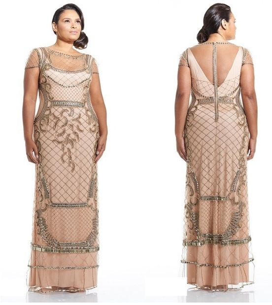 Vestido de festa plus size - Suely Caliman
