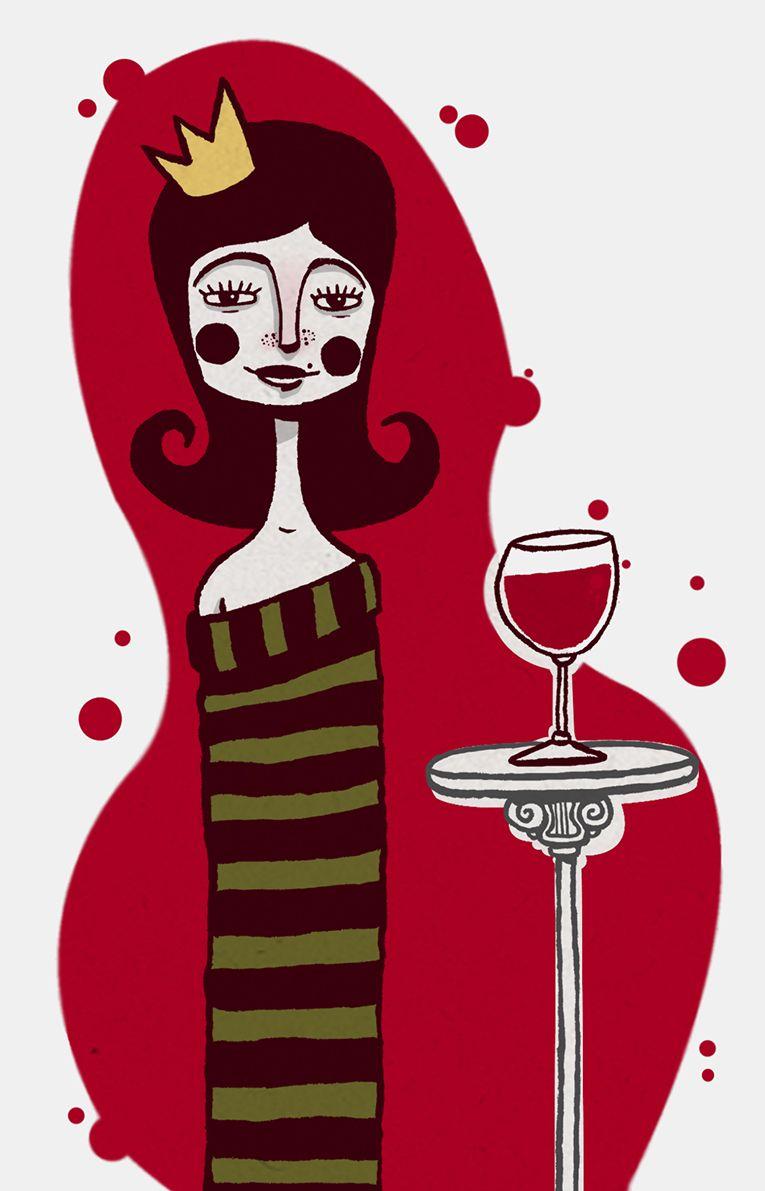 Wine Ilustracoes Trabalhos