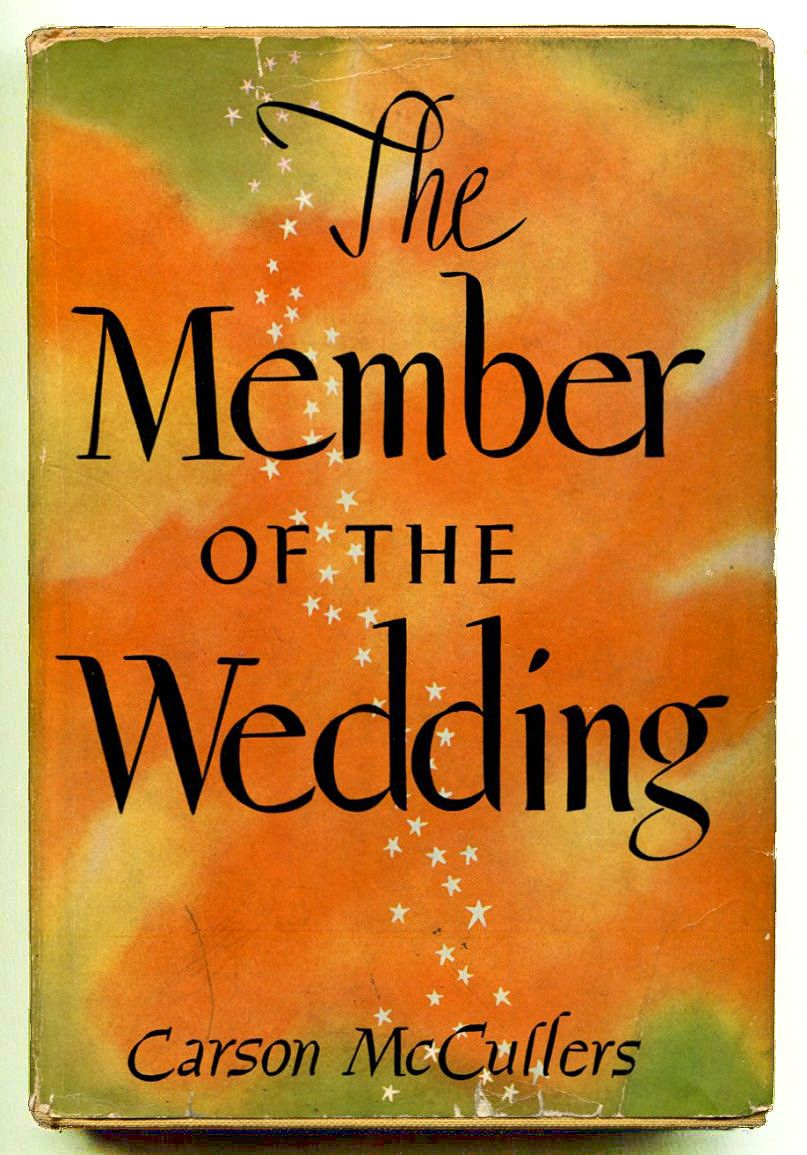 member of the wedding by carson mccullers Carson mccullers (1917-1967) was the author of numerous works of fiction and nonfiction, including the heart is a lonely hunter, the member of the wedding, reflections in a golden eye, and clock without hands.