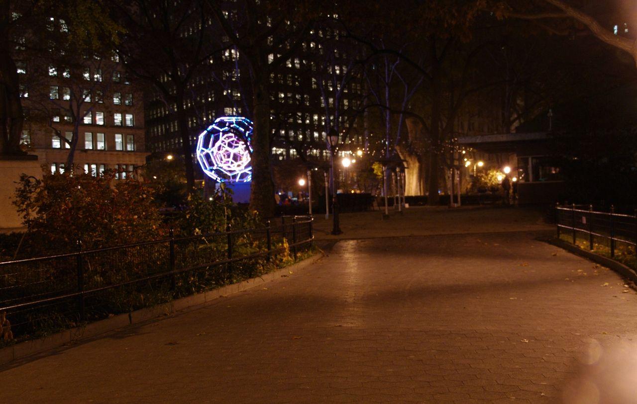 Vivere a New York - A Life in New York: Installazione a Madison Square Park - Art Installation at Madison Square Park