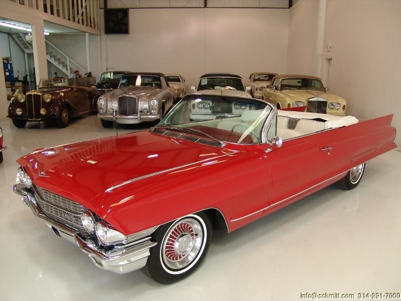 DANIEL SCHMITT & CO CLIC CAR GALLERY PRESENTS: 1962 CADILLAC ...