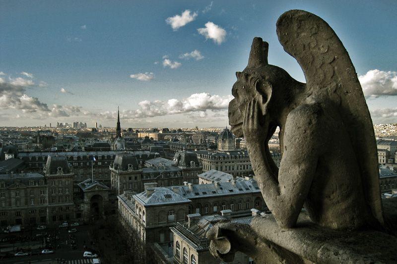 Gárgolas em Paris