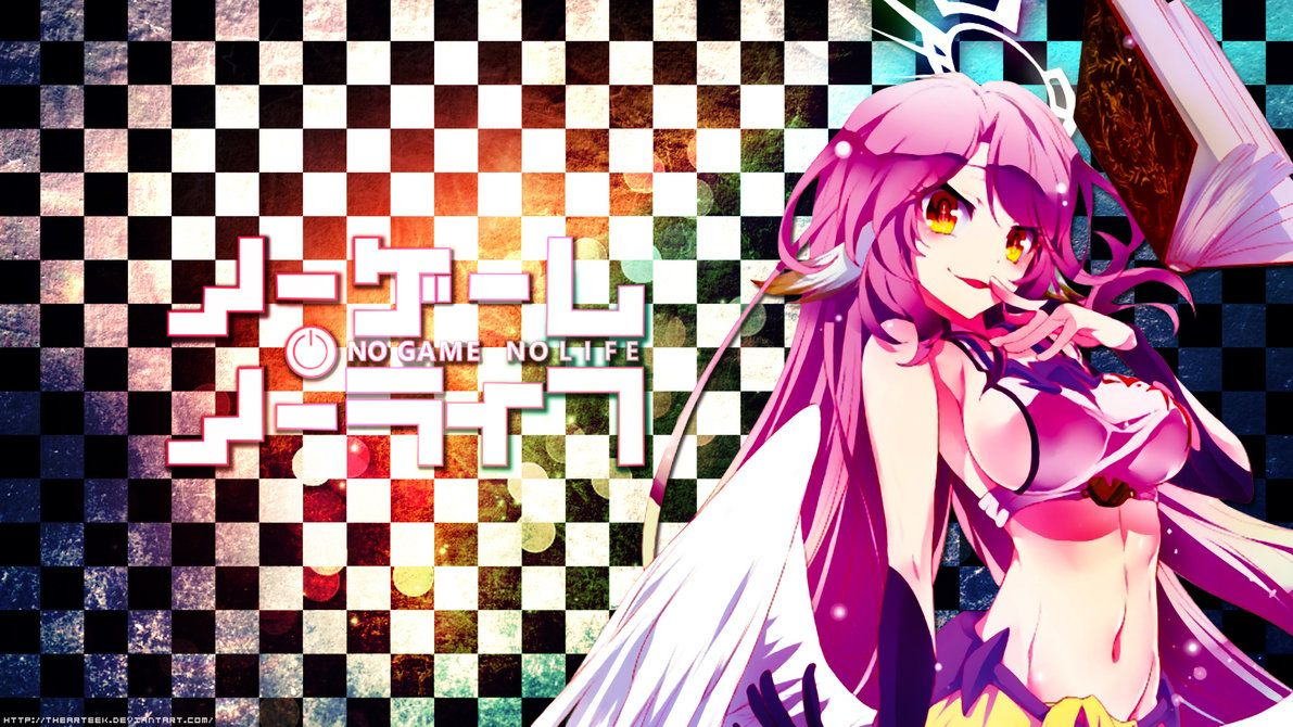 Jibril No Game No Life Wallpaper By Thearteek Deviantart Com No Game No Life Anime Anime Fanart