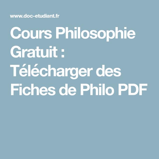 Cour Philosophie Gratuit Telecharger De Fiche Philo Pdf Education Graphic Design Tip Methodologie La Dissertation Philosophique