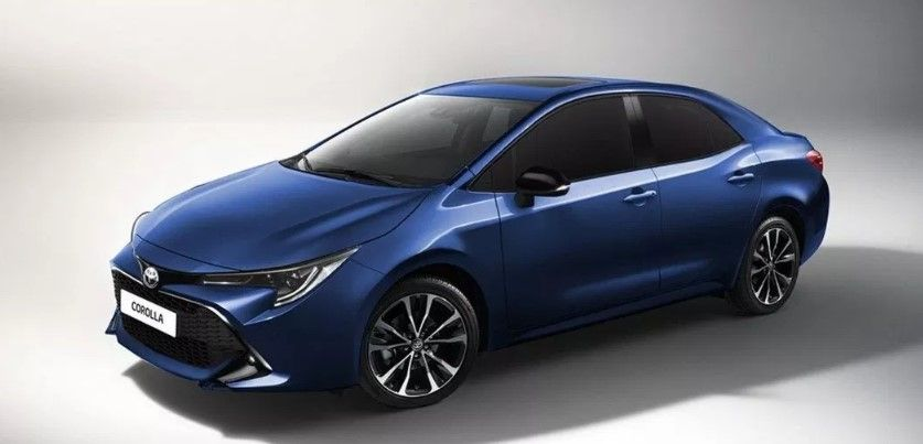 2020 Toyota Corolla Xse At Specs And Features Mobil Baru Toyota Corolla Mobil