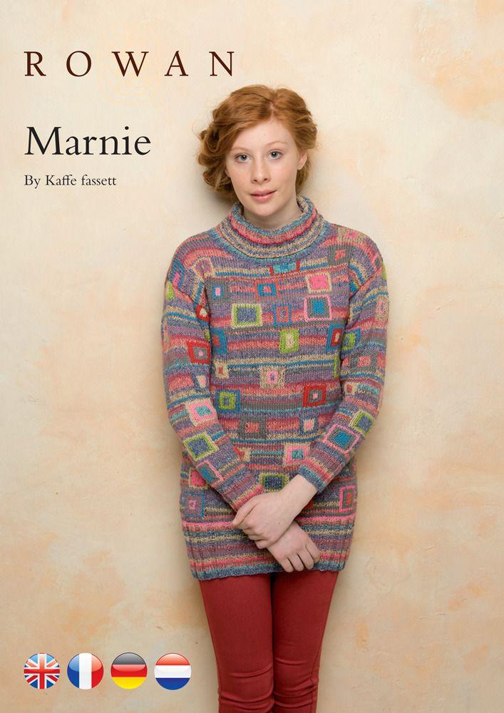 Marnie Tunic in Rowan Purelife Revive | Knitting patterns | Pinterest