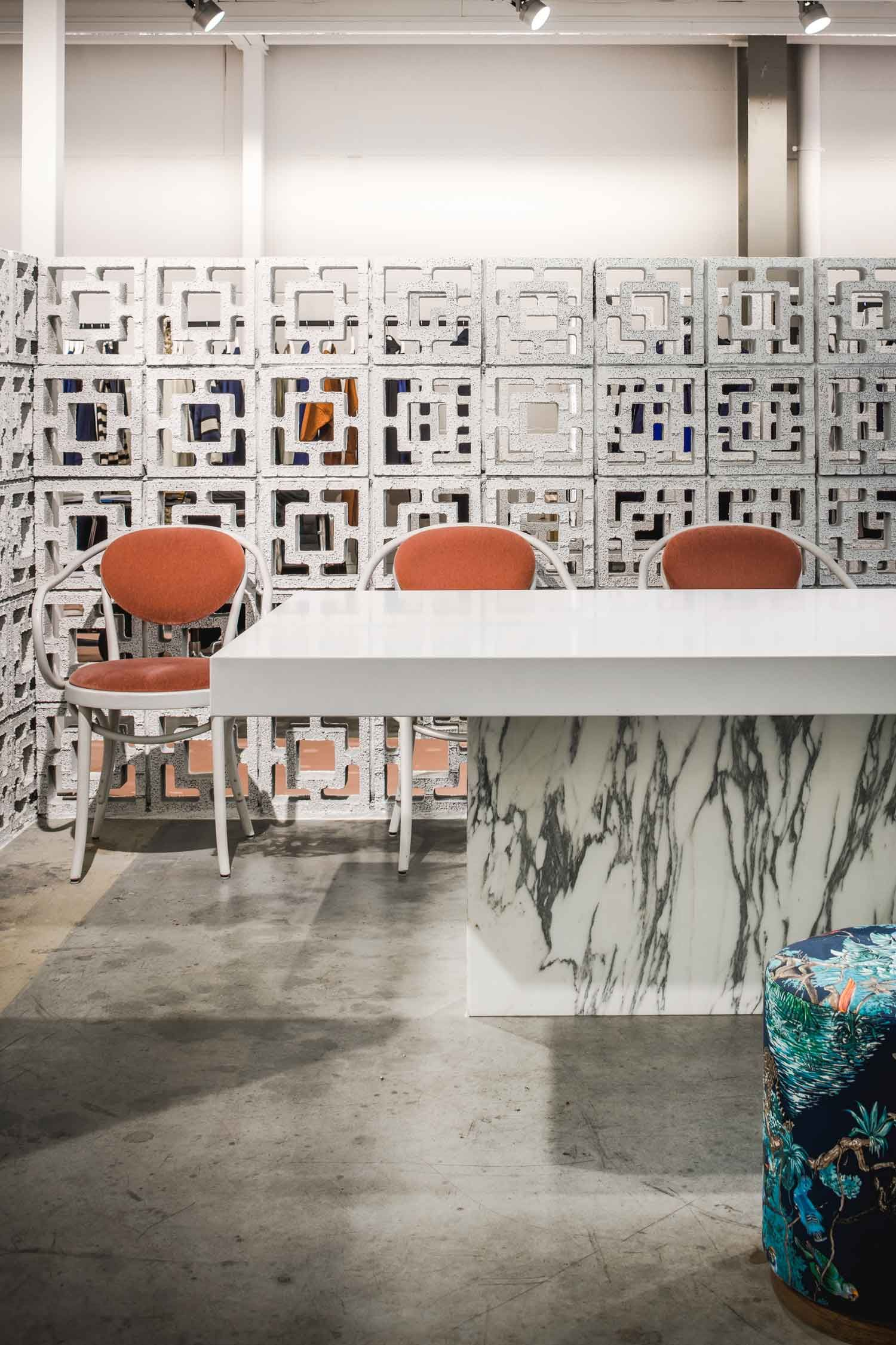 new market showroom in amsterdam by framework | yellowtrace