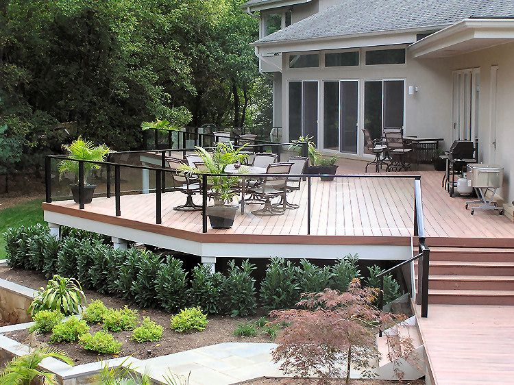 Best Aluminum Deck Railings With Stainless Steel Cables Glass 400 x 300