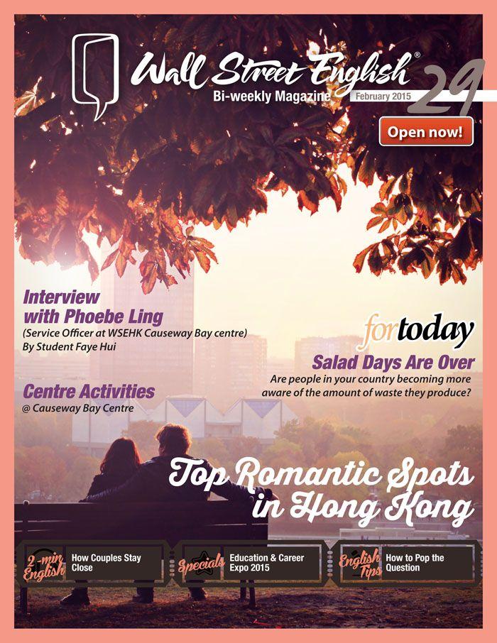 wall street english bi weekly magazine no 29 top on wall street english id=80282