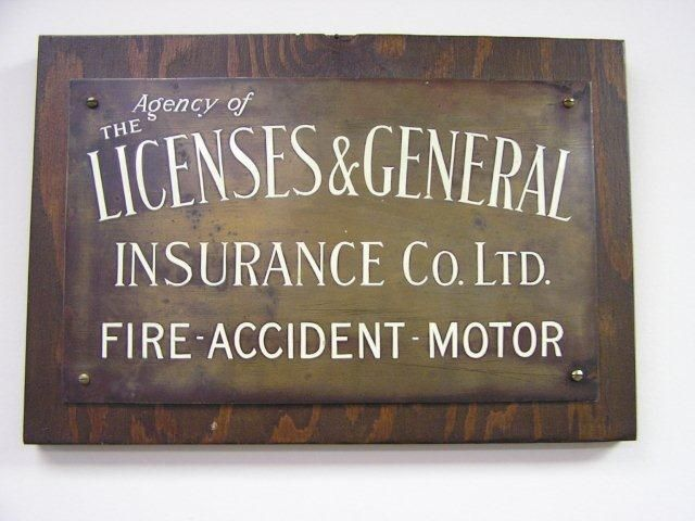 The Agency Of Licenses General Insurance Co Ltd Fire Signs