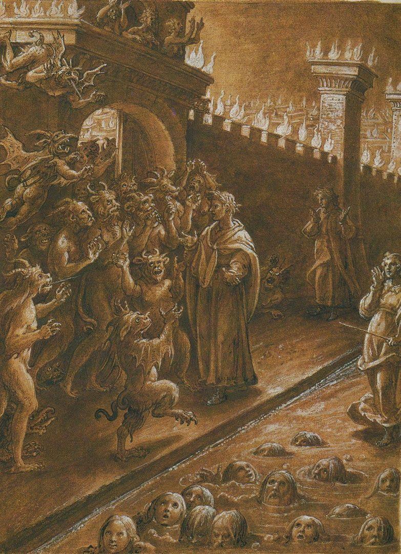Pin On Illustrations Dante