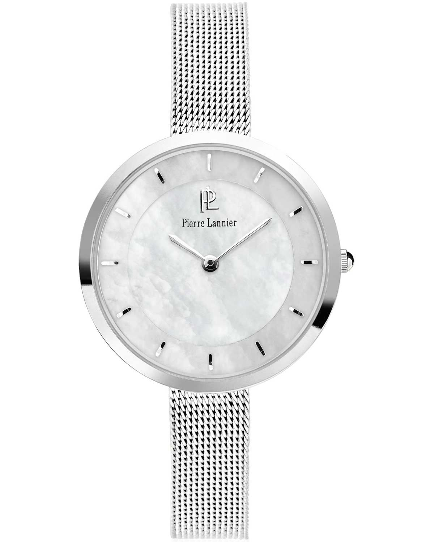 Από τον οίκο Pierre Lannier ένα ρολόι από ανοξείδωτο ατσάλι με ασημί καντράν 53476d2a65a