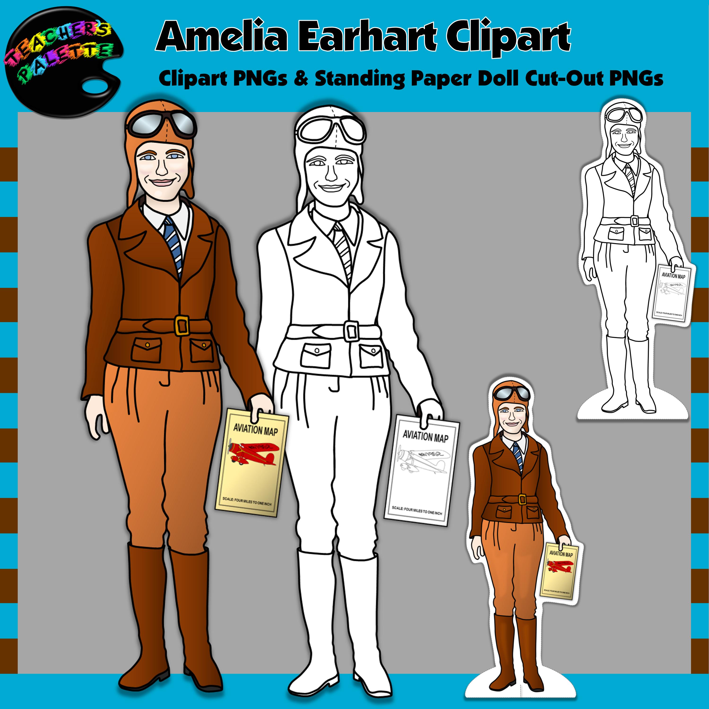 Amelia earhart biography paper