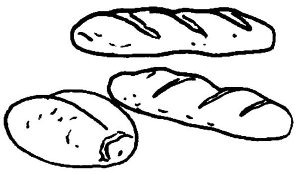 Pin On Bread Coloring Pages