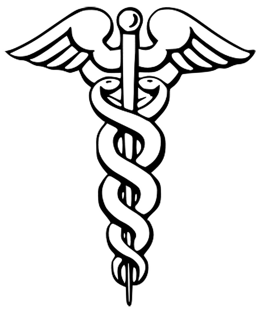 Caduceus a staff carried by the greek messenger mercury symbol a staff carried by the greek messenger mercury symbol for healthcare in biocorpaavc Image collections